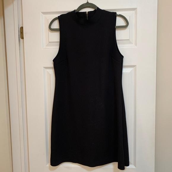 Topshop Dresses & Skirts - Topshop Black Mock Neck Mini Dress 🖤